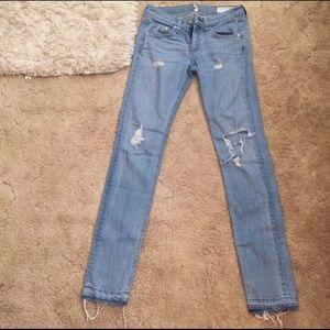 Rag & Bone destroyed jeans Sz25